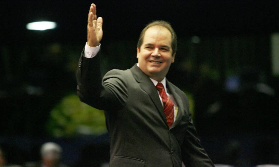 O candidato pelo PT ao governo do Acre Tião Viana Foto: Gustavo Miranda / Agência O Globo