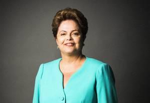 Presidente reeleita Dilma Rousseff Foto: Fábio Seixo / O Globo