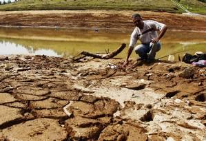 São Paulo é o estado mais atingido pela seca no Sudeste Foto: Fernando Donasci / Agência O Globo