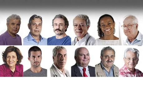 Colunistas do GLOBO analisam reeleição de Dilma Foto: Arte O Globo
