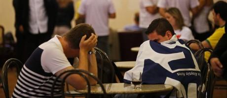 Tucanos lamentam vitória de Dilma nas eleições Foto: SERGIO MORAES / REUTERS