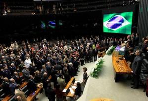 Congresso: propostas para chegar à reforma política diferem sobre papel do Legislativo Foto: Ailton de Freitas / O Globo