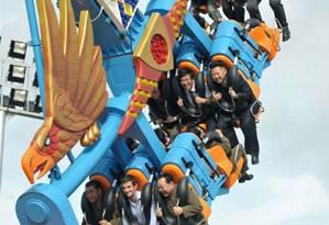 Parque de diversão Foto: KCNA / EPA