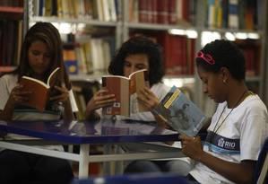 Atentos à leitura. Alunos da Escola Municipal Panamá, no Grajaú, Foto: Guilherme Leporace