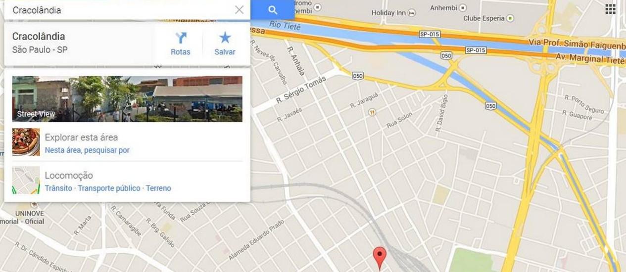 Google maps identifica regio de so paulo como cracolndia jornal busca por cracolndia no google maps retorna local em so paulo reheart Images