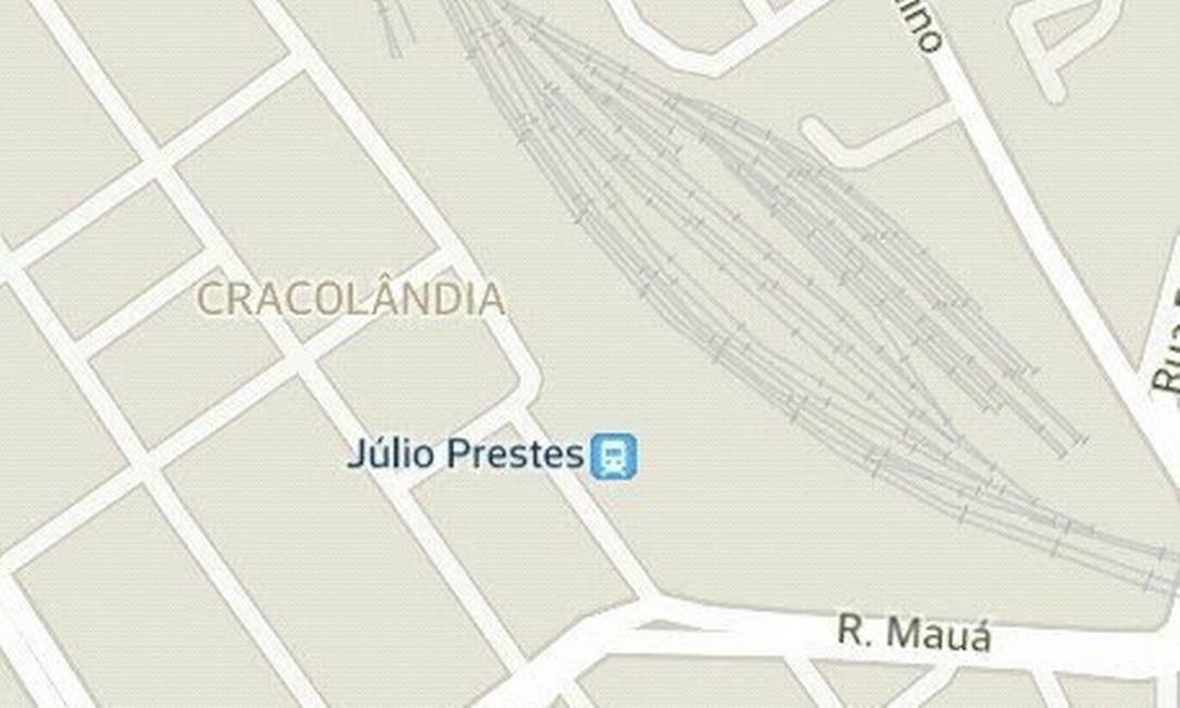 Google Maps identifica região de São Paulo como cracolândia
