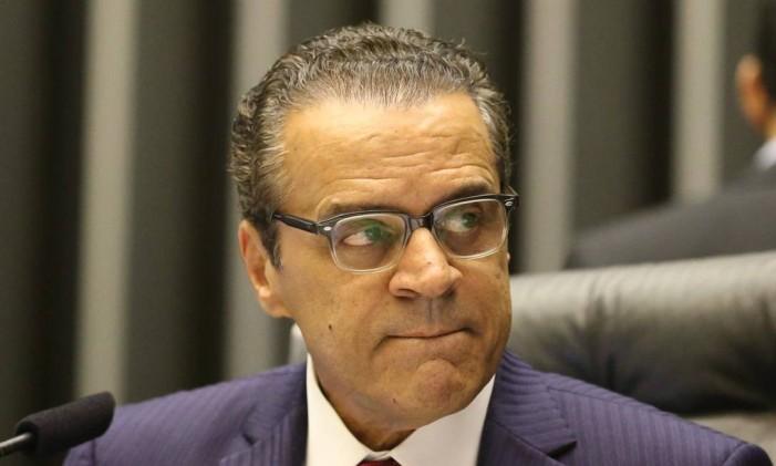 Henrique Eduardo Alves, preidente da Câmara dos Deputados Foto: André Coelho / Agência O Globo