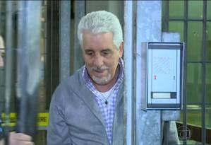 Pizzolato deixa a prisão na Itália Foto: Reprodução / TV Globo