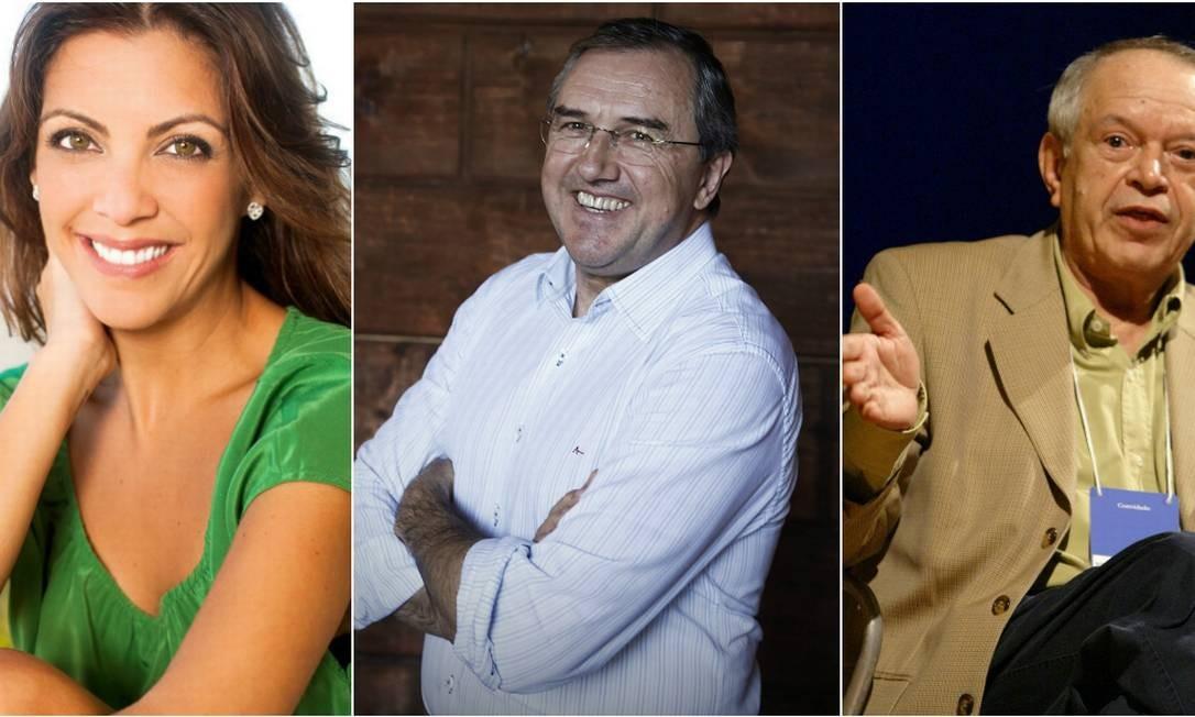Thalita Rebouças, Laurentino Gomes e Antônio Torres estão entre os sete autores que escolheram sua obra nacional preferidos no Dia Nacional do Livro Foto: Reprodução