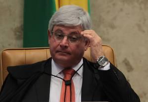 Procurador-geral da República, Rodrigo Janot, criticou condições do sistema carcerário brasileiro Foto: Givaldo Barbosa / Agência O Globo