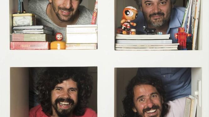 Maurício Pacheco e Domenico Lancellotti Foto: Ana Branco