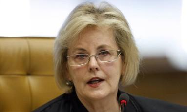 Rosa Weber, do STF, determinou que o Congresso vote a previsão orçamentária para 2015 do Judiciário e do MP, e não a versão com cortes efetuados pela presidente Dilma Rousseff Foto: Nelson Jr. / STF/SCO/STF