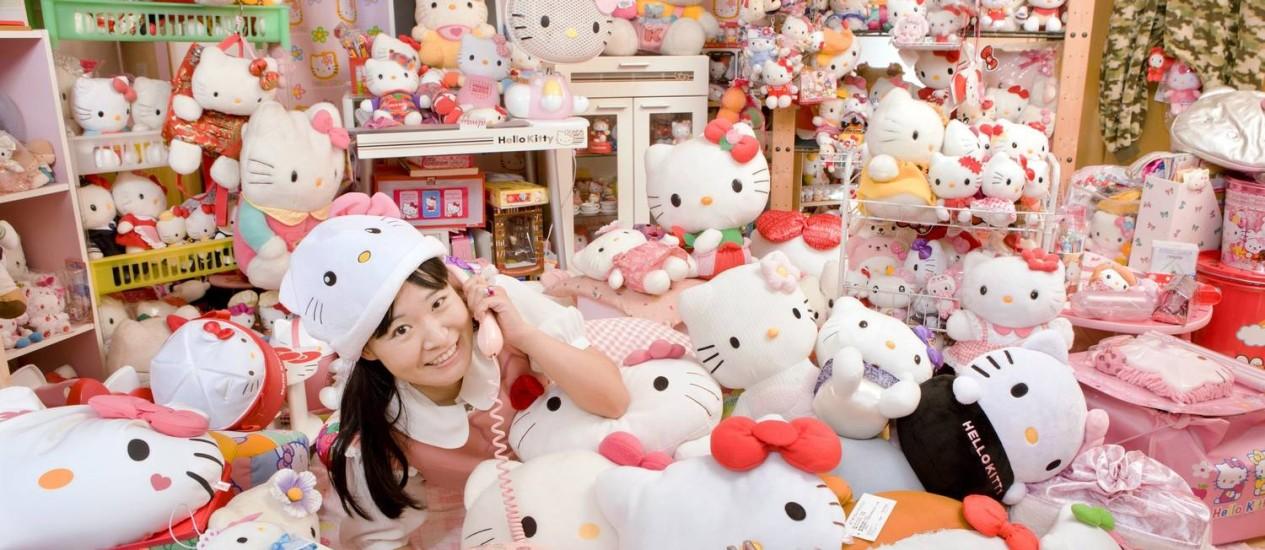 Prester a fazer quarenta anos, personagem da Sanrio é adorada por adultos e crianças Foto: Divulgação
