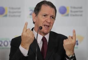 Ministro do TSE João Otávio de Noronha Foto: Ailton de Freitas / O Globo