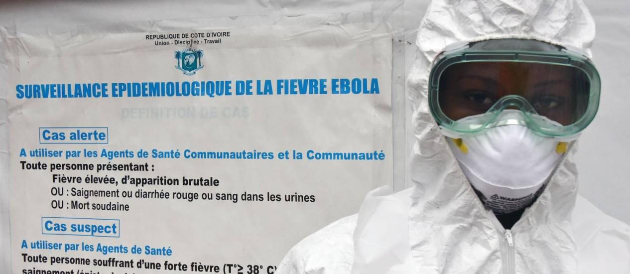 Segundo paciente com ebola da França teria contraído o vírus em Serra Leoa Foto: SIA KAMBOU / AFP
