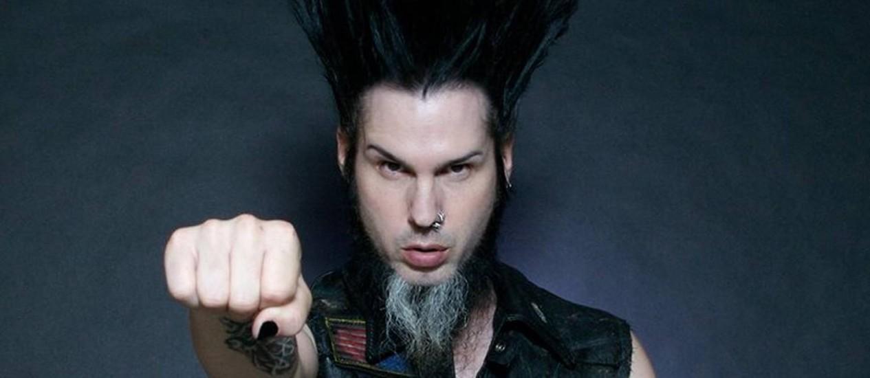Wayne Static estava se apresentando em carreira solo Foto: Divulgação