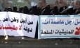 Manifestantes protestam em Saná: instabilidade política e violência