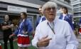 O chefão da F-1, Bernie Ecclestone, havia prometido não levar a categoria para países que desrespeitam direitos humanos