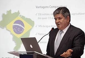 O ex-presidente lienciado da Transpetro, Sérgio Machado Foto: Divulgação