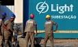 Subestação da Light: empresa afirma ter pedido reajuste em torno de 20%
