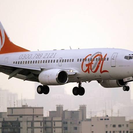 Avião da Gol Foto: Caetano Barreira / EFE