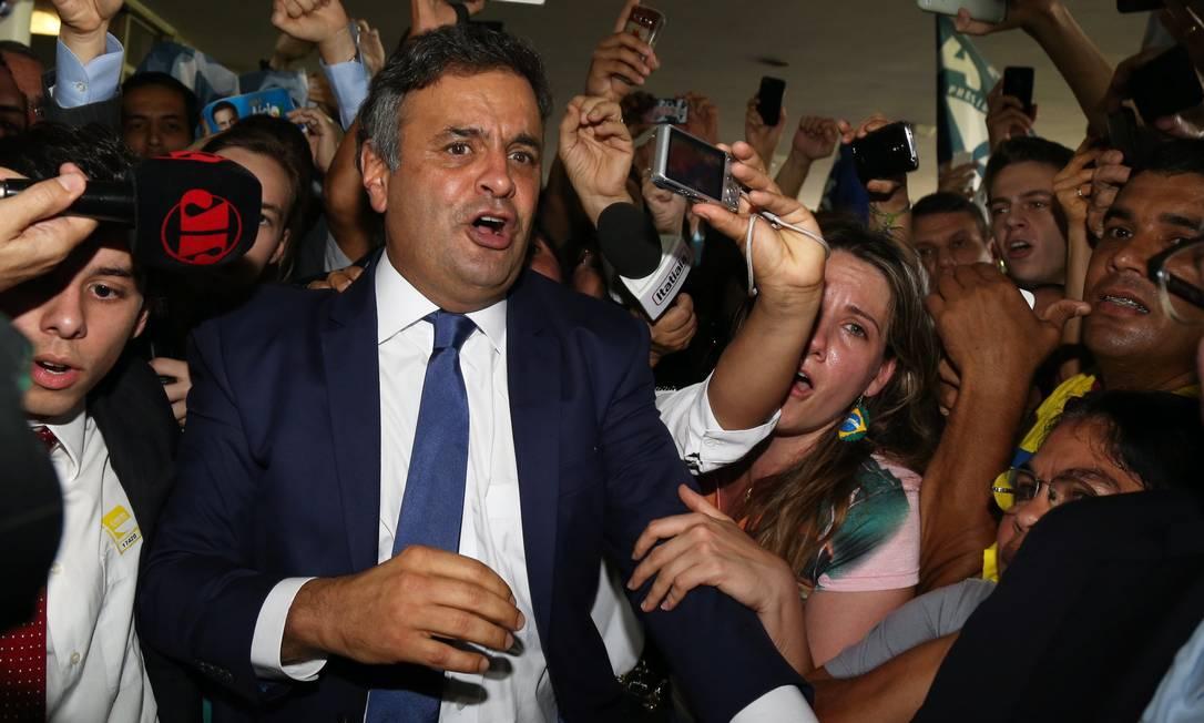 Ele negou defender o impeachment da presidente Dilma e rejeitou as manifestações com esse objetivo Foto: Ailton de Freitas / Agência O Globo