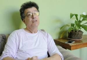 O professor Manoel Luiz Malaguti, da Ufes, acusado por alunos de fazer comentários racistas em sala de aula Foto: Reprodução / Gazeta Online