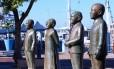 Os quatro sul-africanos premiados com o Nobel da Paz