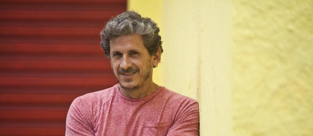 Simpatia: Paulo Vespúcio é só alegria com a estreia na direção Foto: Guilherme Leporace / Agência O Globo