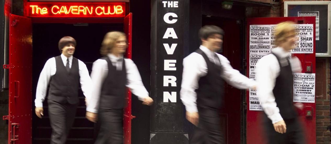 The Cavern Club, em Liverpool, onde os Beatles iniciaram carreira Foto: Divulgação/Visit Britain