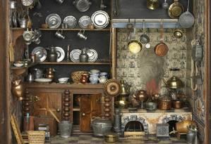 Cozinha holandesa do século XVII é raridade no Museu da Infância do Victoria & Albert Foto: Divulgação