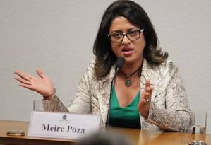 Meire Poza: contadora de doleiro deve prestar novo depoimento à comissão Foto: Ailton de Freitas / O Globo