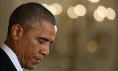 Presidente americano, Barack Obama Foto: MARK WILSON / AFP
