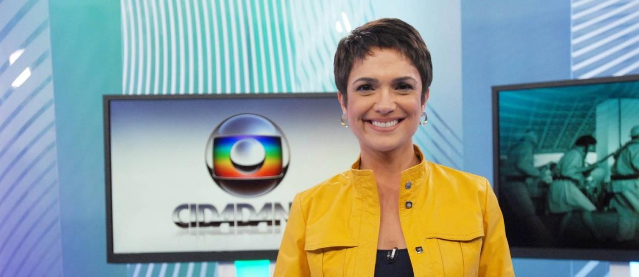 Sandra Annemberg sofre acidente malhando em casa e se afasta da TV Foto: Divulgação