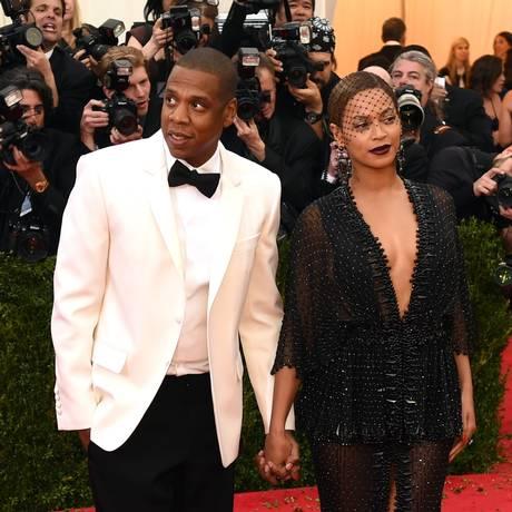 Jay-Z e Beyoncé: casal está sendo processado por cantora húngara Foto: TIMOTHY A. CLARY / AFP