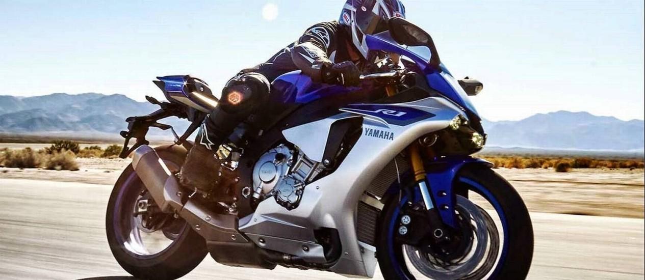 Nova Yamaha R1 está repleta de tecnologia Foto: Divulgação