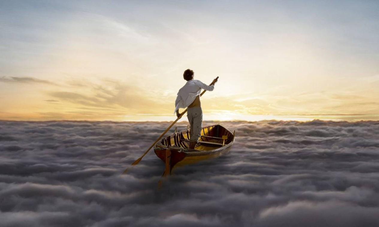 A arte da capa é um dos destaques de 'The endless river', como de costume na obra do Pink Floyd. A imagem criada pelo jovem egípcio Ahmed Emad Eldin para o último disco da banda mantém o clima onírico dos trabalhos realizados por Storm Thorgerson, do estúdio Hipgnosis, responsável por algumas das mais marcantes capas do grupo. Foto: Divulgação