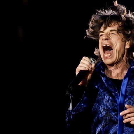 O vocalista dos Rolling Stones, Mick Jagger, se apresenta no Rock in Rio Lisboa em maio deste ano Foto: Patricia de Melo Moreira / AFP
