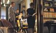 """Os atores Tom Verica e Viola Davis em um episódio do seriado da ABC """"How to Get Away With Murder"""", maior sucesso da TV americana"""