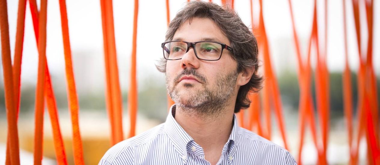 RI - 09/11/2014 - Rio de janeiro RJ - EXCLUSIVO - Página 2 com Martin Wolfson, na Semana Designe Rio. Foto Fabio Seixo Ag O Globo Foto: Fabio Seixo / Fabio Seixo