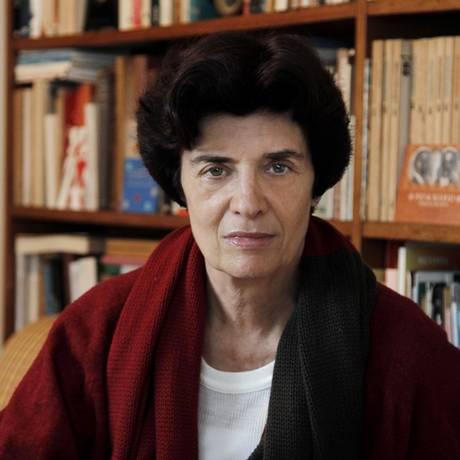 Ana Luisa Escorel é vencedora do Prêmio SP de Literatura Foto: Mônica Imbuzeiro / Agência O Globo