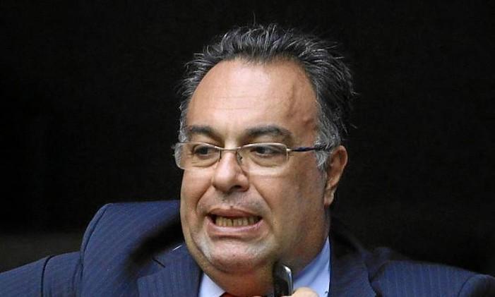 André Vargas, ex-vice-presidente da Câmara Foto: ANDRE COELHO/Agencia O Globo / Agência O Globo