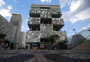 Sede da Petrobras, no Centro do Rio Foto: Pedro Kirilos / O Globo