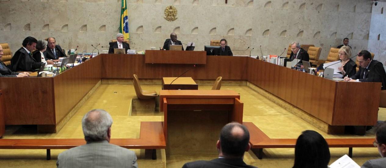 Para STF, com a norma julgamentos são mais rápidos Foto: Givaldo Barbosa / Arquivo O Globo