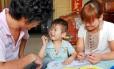Imagem de promoção da política do filho único na China com um casa e um menino: segundo ONU, o extermínio de fetos do sexo feminino extrapola o Leste da Ásia, onde sempre existiu