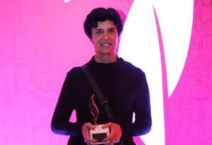 Ana Luisa Escorel, vencedora do Prêmio SP Foto: Fernando Donasci / Agência O Globo