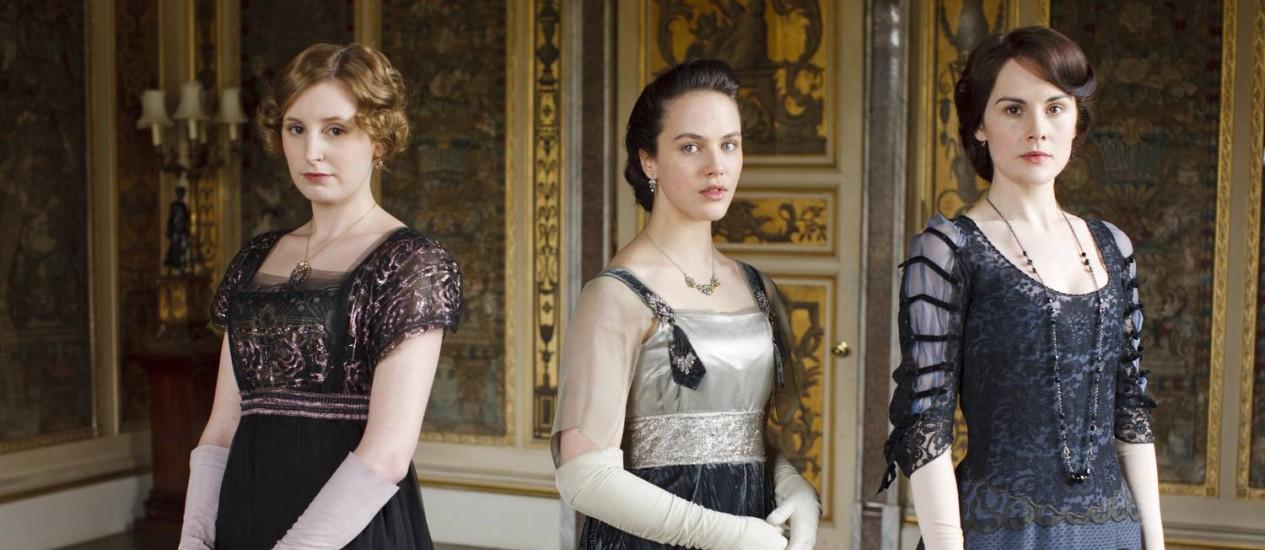 Cena da série 'Downton Abbey' Foto: Divulgação