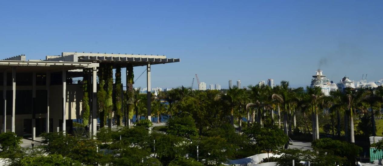 Pérez Museum, em Miami, é um dos que participam das promoções Foto: Cristina Massari / Agência O Globo