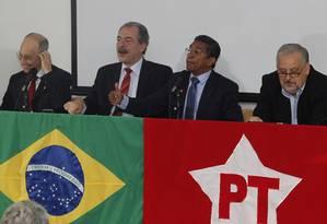 Bancada do PT não entrou em consenso sobre nome para presidência da Câmara Foto: Givaldo Barbosa / Agência O Globo