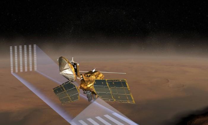 Sonda Mars Climate Orbiter Foto: NASA